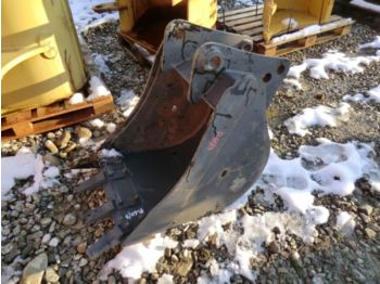 New 60 CM REAR ARM BUCKET WITH TEETH. WEIGHT 170 KG - κουβας για εκσκαφείς