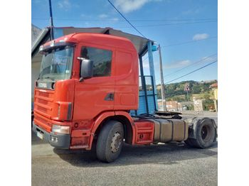 SCANIA R 124L 400 left hand drive manual retarder hydraulic kit - τράκτορας
