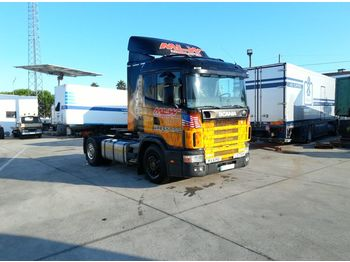 SCANIA R 124 400 left hand drive 3+3 manual Euro 2 - τράκτορας