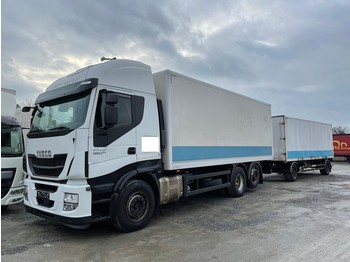 Iveco Stralis 460E6 6x2 Lenkachse Durchlader (43) - φορτηγό κόφα