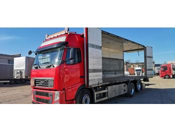 Volvo FH460 6X2 FULL SIDE OPENING only 364011km!!  - φορτηγό κόφα